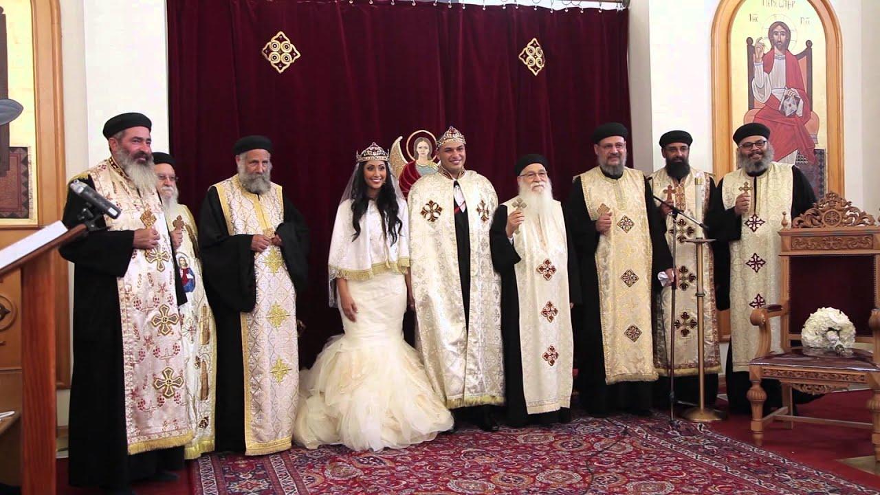 Coptic Orthodox Wedding Video Edwin Amp Nancy Youtube