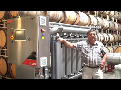 Bucher Vaslin Cross Flow Filtration At Coelho Winery With Owner Dave Coelho