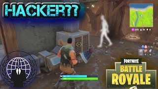 Caught a Ghost or Hacker in Fortnite!!!? (Not clickbait)