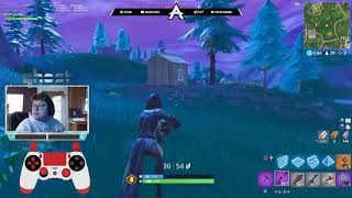 GHOST AYDAN SETTINGS ON WINTER ROYAL! Console Pro Player! Fortnite
