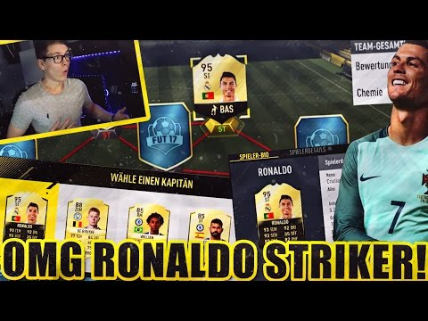FIFA 17: OMFG INFORM RONALDO STRIKER FUT DRAFT!!! - ULTIMATE TEAM - RealFIFA