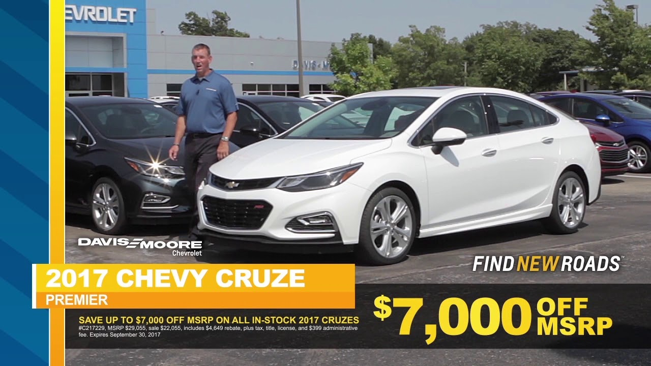 2017 Chevy Cruze Msrp >> Trade In Trade Up 09 17 Chevrolet Cruze Traverse