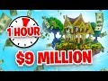 MAKING $9 MILLION in ONE HOUR - SKYBLOCK #11
