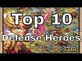 Castle Clash Top 10 Defense Heroes