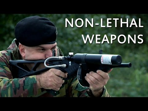 Shoot to warn or shoot to kill? Non-lethal weapons training