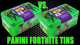 Panini FORTNITE TRADING CARDS SERIE 1 | COLETORES TIN BATTLE | Unboxing