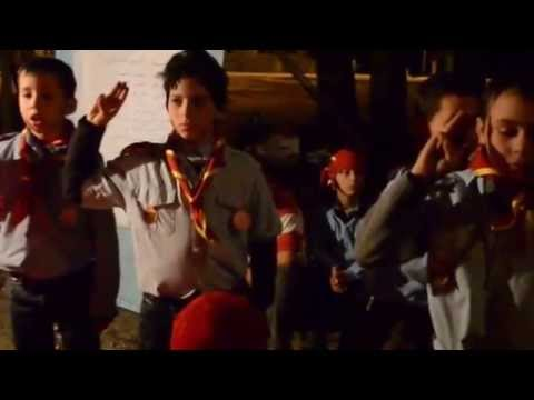 "les scouts de Birchallouf "" Centre de camping Bordj- Cedria Mars 2013 """