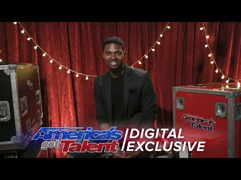 Singer Johnny Manuel Chats About Never Giving Up - America's Got Talent 2017