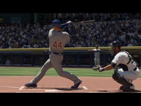 MLB The Show 16 - Chicago Cubs vs Milwaukee Brewers | Gameplay (PS4 HD) [1080p60FPS]