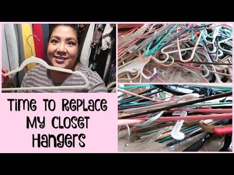 Replacing My Closet Hangers