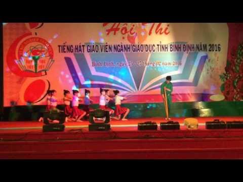 Tiếng hát GV bình định 2016-THPT Nguyễn diêu- bài 2 vết chân tròn trên cát
