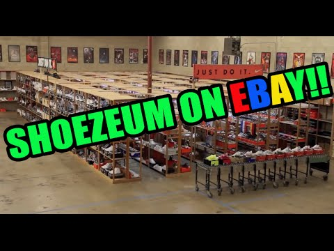 @Shoezeum Listings On Ebay! Own A Part Of Sneaker History!