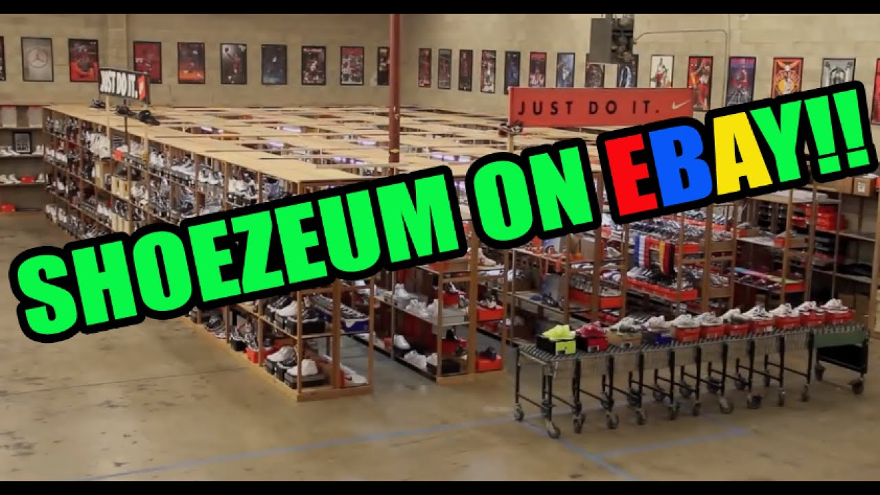 652566a10d19b7 Shoezeum Listings On Ebay! Own A Part Of Sneaker History! - YouTube