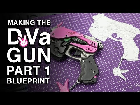 Creating a Blueprint - D.Va Gun Replica - Part 1