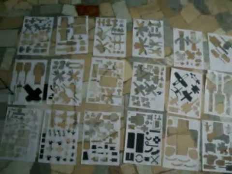 Papercraft GUNDAM RX-79 G PAPERCRAFT