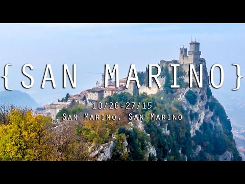 THE TINY COUNTRY OF SAN MARINO!
