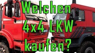 Welchen Allrad-LKW fürs Expeditionsmobil kaufen? (Steyr 18S28 oder Mercedes-Benz SK 1831) - E8