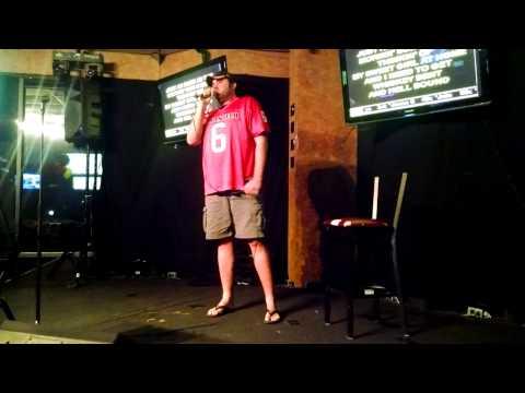 Heath on karaoke
