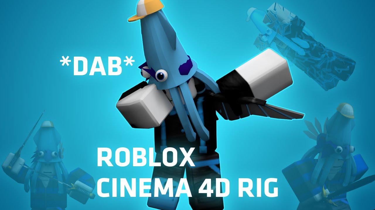 Free ROBLOX Rig (Cinema 4D) by AbsurdAsian