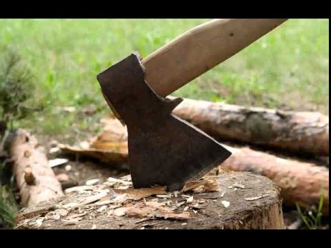 Chopping Wood Sound Effect (Royalty Free)