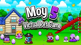 Video Moy 5 - Virtual Pet Game Android Gameplay (HD) download MP3, 3GP, MP4, WEBM, AVI, FLV Desember 2017