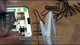 VD38W draadloze video deurintercom doos en uitleg