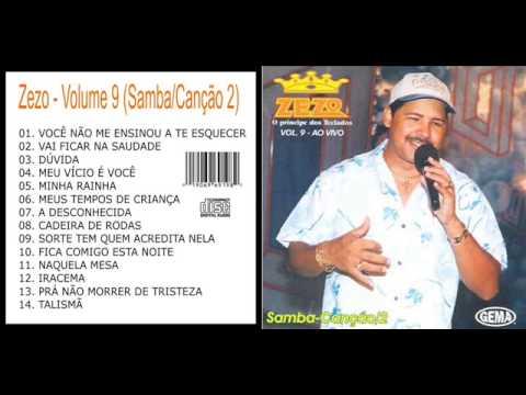 Zezo Samba Canção vol 8 e 9