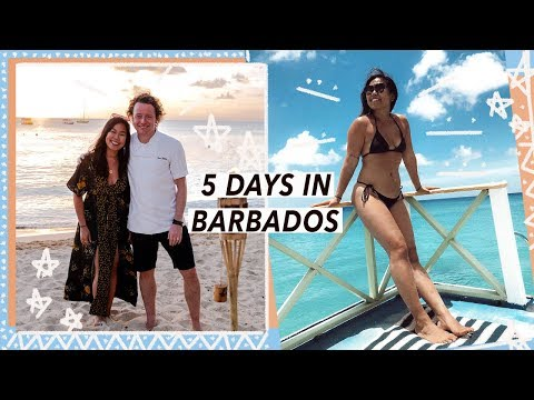 5 Days in Barbados with a Michelin Chef | Caribbean Food Travel Vlog