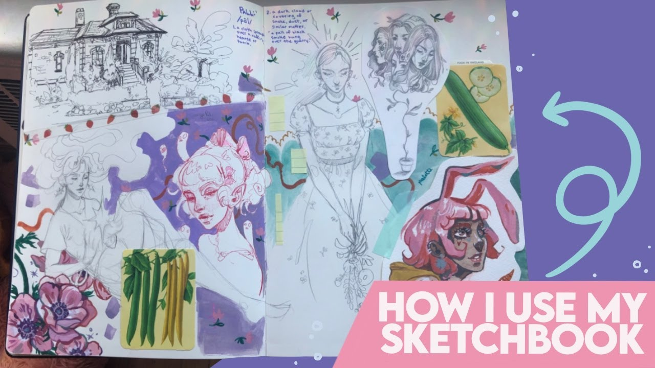 How I Use my Sketchbook (and a story) 📓✨