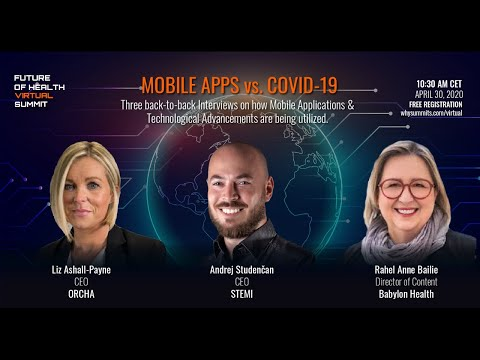 Mobile Apps - A Powerful Tool Against COVID -19 | Interviews & Q/A with Health Apps