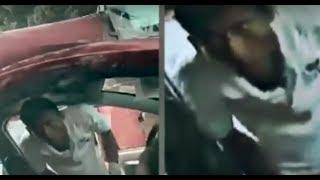 Mujer choca, queda prensada en el coche, y un hombre finge ayudarla para robarle celular thumbnail