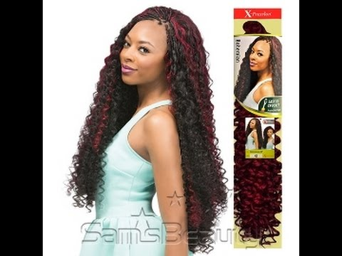 Curly Crochet Braids Xpression : ... , KINKY CURL, BOHEMIAN CURL, BAHAMAS CURL 4 CROCHET BRAIDS - YouTube