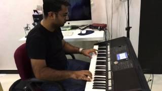 Karz theme (Ek Haseena thi) on Keyboard by Vishal Bagul (Jamming)