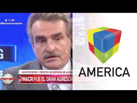 Rossi comparó a Macri con Isidoro Cañones por su actitud en el debate