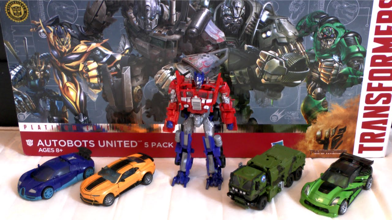 Image Gallery transformers 5 autobots