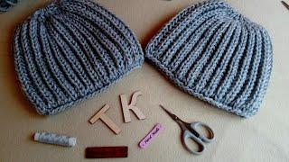 Как я шапочки вяжу:)))