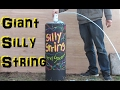 Worlds Largest Silly String (Experimental Fun)