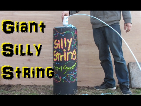 Thumbnail: Worlds Largest Silly String (Experimental Fun)