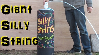 Worlds Largest Silly String (Experimental Fun) thumbnail
