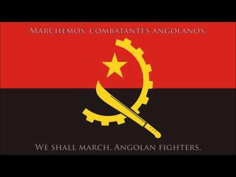 National anthem of Angola (PT/EN lyrics) - Hino nacional de Angola
