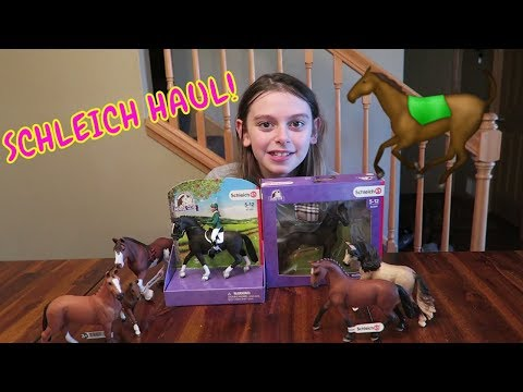 🐎SCHLEICH HAUL!🐴   TOYS R US SHOPPING SPREE UNBOXING!😜 FIRST DAY TV