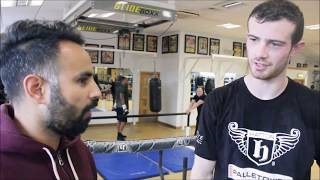 EXCITING PROSPECT JAKE HAIGH; WORKING WITH RICKY HATTON AND FUTURE AMBITIONS