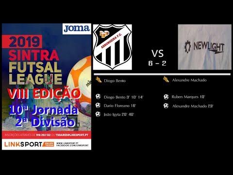 VIII Edição Sintra Futsal League 2ªDiv 10ªJorn Abrunheira vs Newlight 6 - 2
