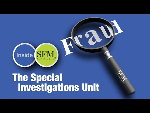 Inside SFM: The Special Investigations Unit