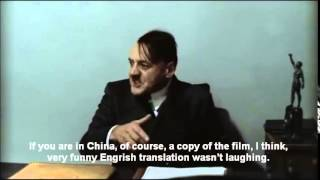 Hitler is Informed That the Subtitles Are Badly Translated Into Engrish(Hitler is informed by Gunsche that the subtitles are badly translated into Engrish. Here is the translation of the Engrish dialogue: GUNSCHE: The subtitles are ..., 2014-11-27T05:31:39.000Z)