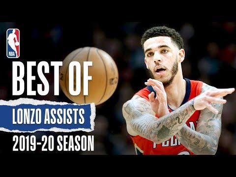 Best Of Lonzo Ball's Assists | 2019-20 Season
