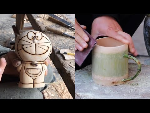 Awesome 13 Creative idea Craft make useful items by wood and Bamboo