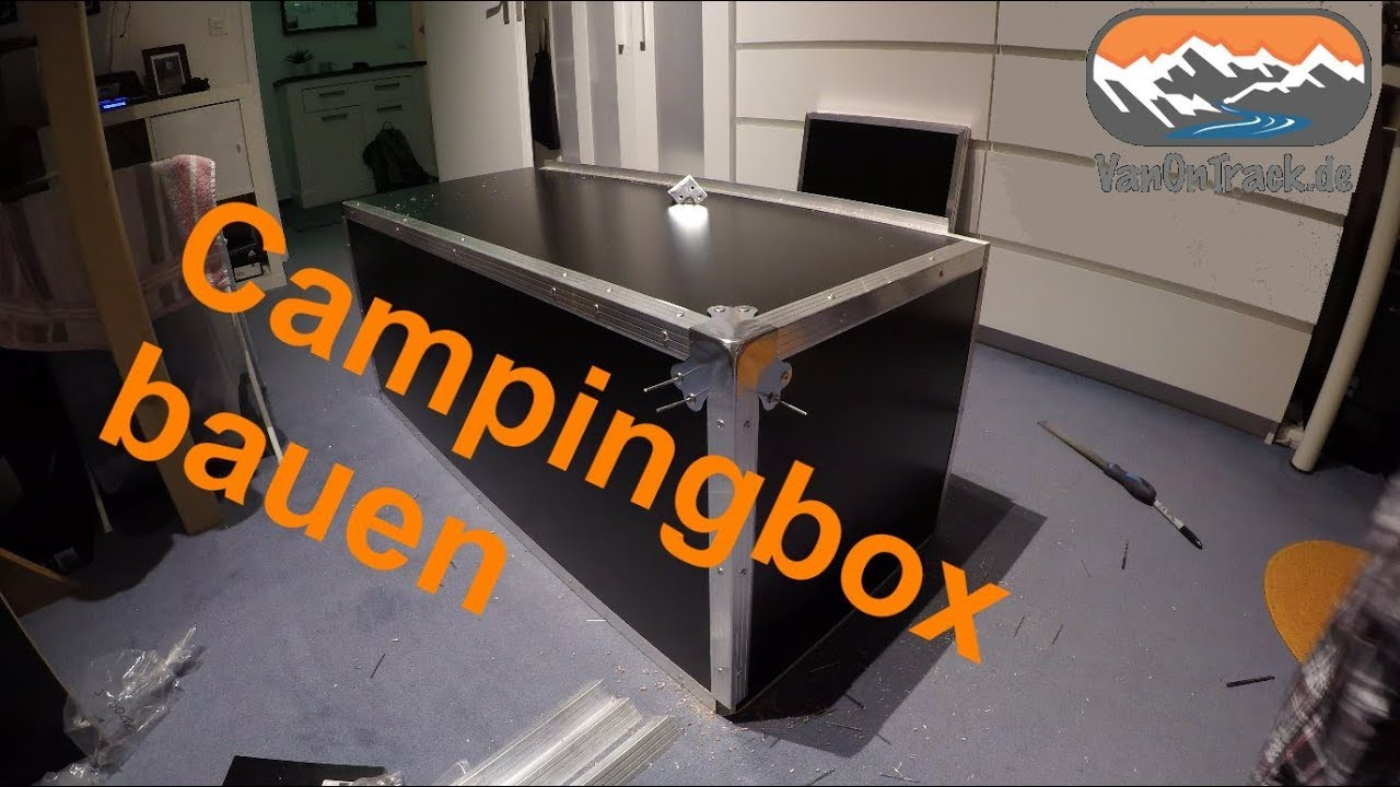 campingbox selber bauen eine 3te camperbox f r unseren minicamper diy youtube. Black Bedroom Furniture Sets. Home Design Ideas
