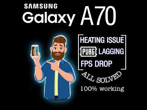 Samsung a70 heating and pubg lag problem fixed 100%