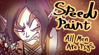 Speed Paint: All Men Are Pigs